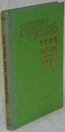 MOTOR CYCLING YEAR BOOK 1952. CHAMBERLAIN Peter
