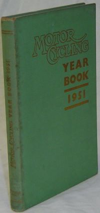 MOTOR CYCLING YEAR BOOK 1951. CHAMBERLAIN Peter